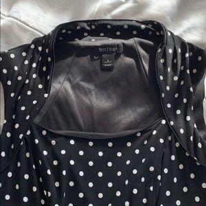 White House Black Market Dresses - White House Black Market cap sleeved dress